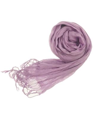 lilac scarf